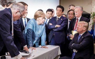 Cinco perspectivas da imagem-símbolo do G7