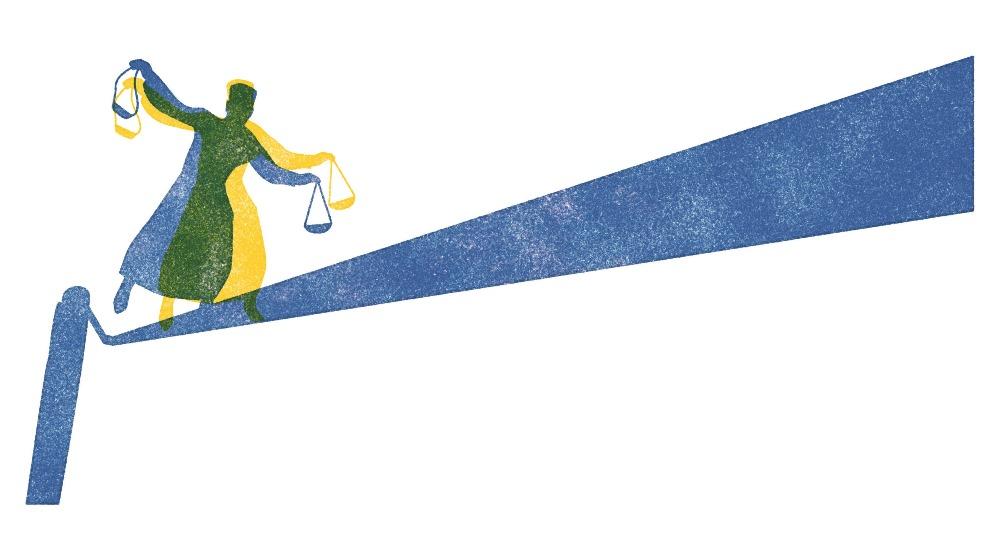 A Justiça no centro da crise política