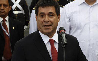 Presidente do Paraguai Horacio Cartes renuncia ao posto