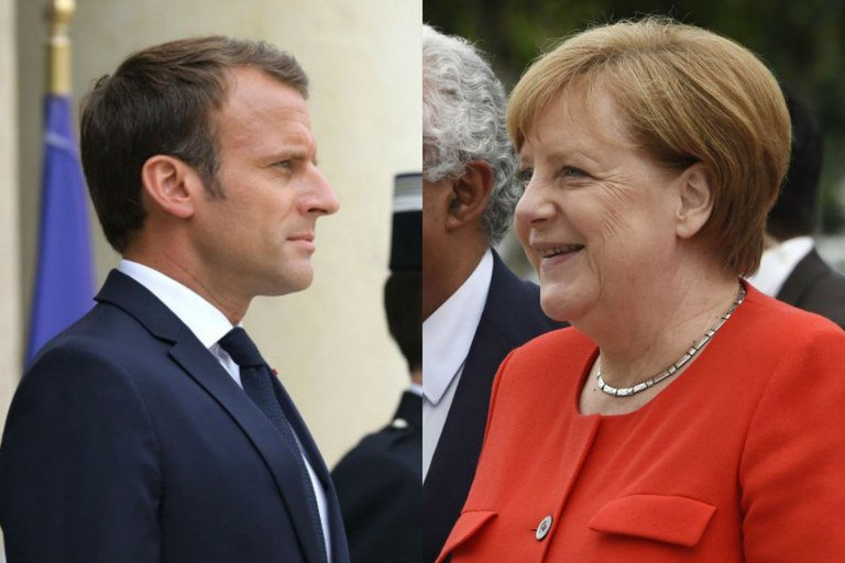 As ideias de Macron e Merkel para reformar a Europa