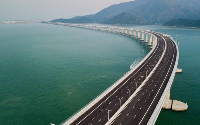 China inaugura maior ponte marítima do mundo